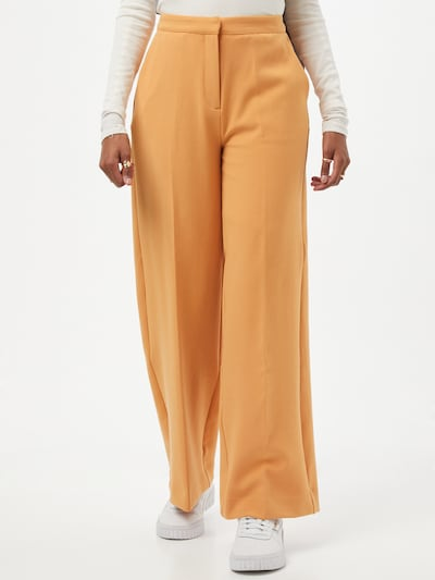 Another Label Trousers with creases 'Moore' in Orange, View model