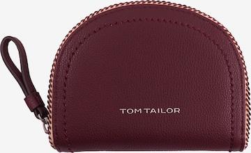 TOM TAILOR Geldbörse in Rot