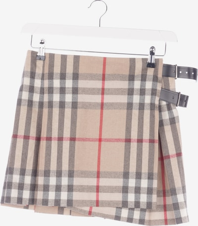 BURBERRY Skirt in XXS in Mixed colors, Item view