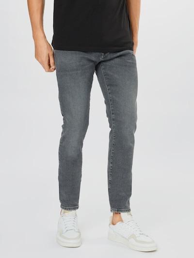 Jeans 'LEO' Mavi pe denim gri, Vizualizare model