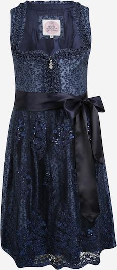 MARJO Dirndl 'Caroline' in dunkelblau, Produktansicht