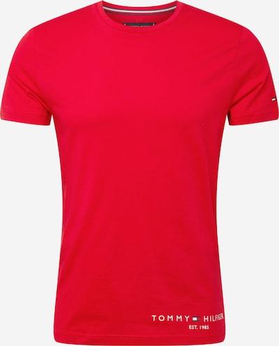 TOMMY HILFIGER Tričko - červená / bílá, Produkt
