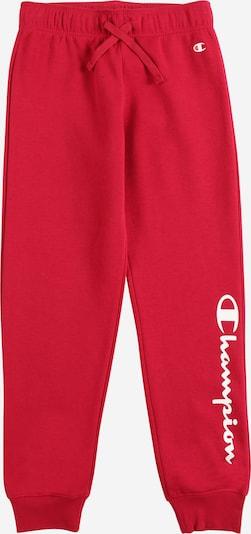 Champion Authentic Athletic Apparel Pantalon en rouge / blanc, Vue avec produit
