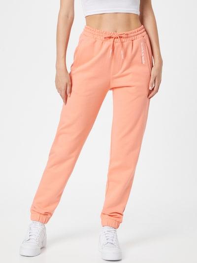 SCOTCH & SODA Nohavice - marhuľová / biela, Model/-ka