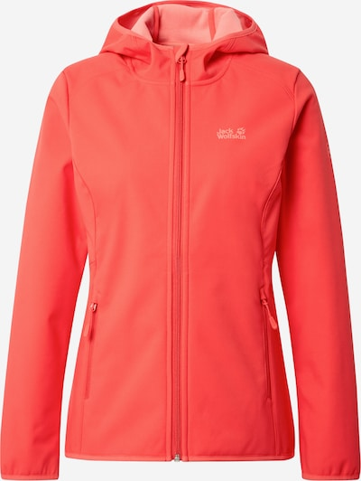 JACK WOLFSKIN Veste outdoor 'Northern Point' en rouge orangé, Vue avec produit