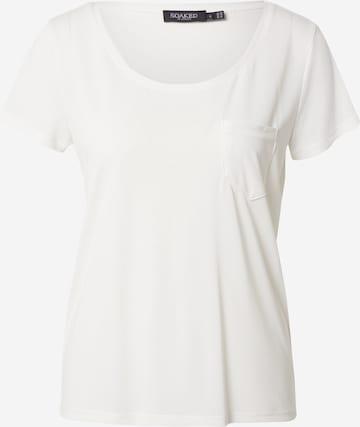 SOAKED IN LUXURY Shirt 'Columbine' in Weiß