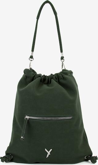 Suri Frey Turnbeutel ' Romy ' in dunkelgrün, Produktansicht
