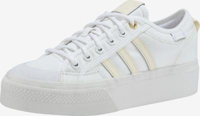 ADIDAS ORIGINALS Sneaker 'Nizza Platform' in grau / weiß, Produktansicht