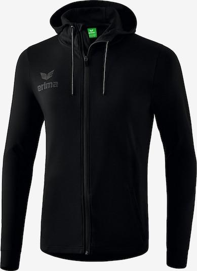 ERIMA Jacke in grau / schwarz, Produktansicht