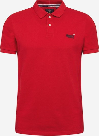 Superdry Shirt in rot, Produktansicht