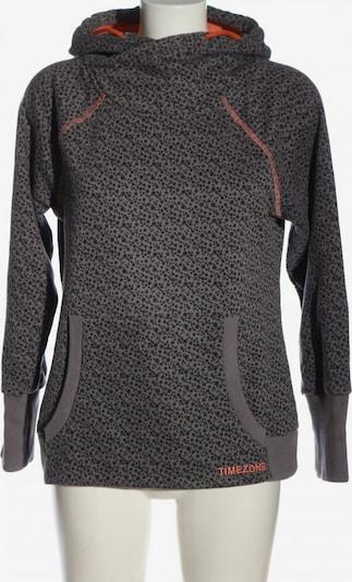 TIMEZONE Kapuzensweatshirt in M in hellgrau / schwarz, Produktansicht