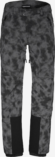 CHIEMSEE Sporthose 'TAOS' in grau / schwarz, Produktansicht