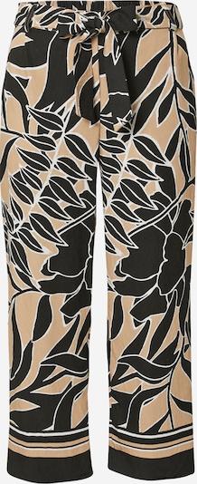 COMMA Bukser i beige / sort / hvid, Produktvisning