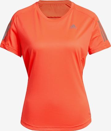 ADIDAS PERFORMANCE Funksjonsskjorte 'Own the Run' i oransje