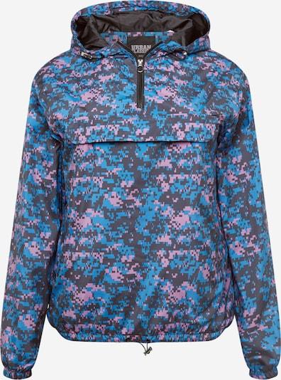 Urban Classics Curvy Jacke in blau / anthrazit / mauve / brombeer, Produktansicht