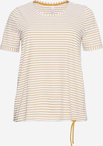 SHEEGO T-Shirt in Gelb