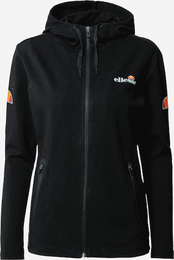 ELLESSE Sportssweatjakke 'Ceresa' i orange / rød / sort / hvid, Produktvisning