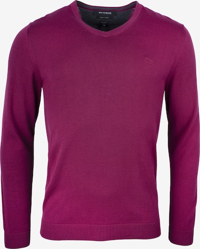 ROY ROBSON Pullover in bordeaux, Produktansicht
