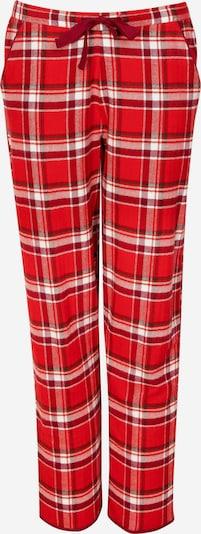 Cyberjammies Pyjamahose 'Robyn' in creme / rot, Produktansicht