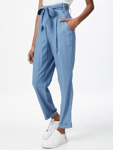 STEFFEN SCHRAUT Bandplooi jeans 'Lauren' in Blauw