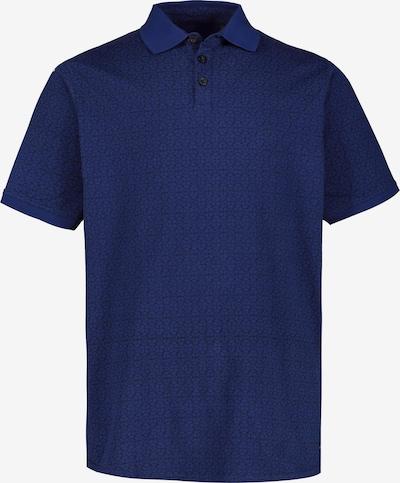 JP1880 Poloshirt in blau / dunkelgrau: Frontalansicht