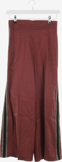 D-Exterior Pants in S in Wine red, Item view