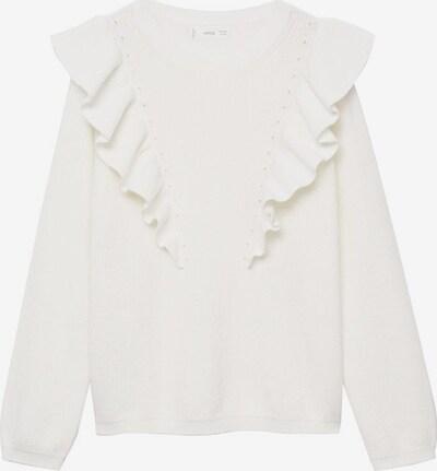 MANGO KIDS Sweatshirt in weißmeliert, Produktansicht