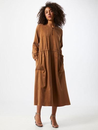 DRYKORN Kleid 'Adraina' in braun, Modelansicht