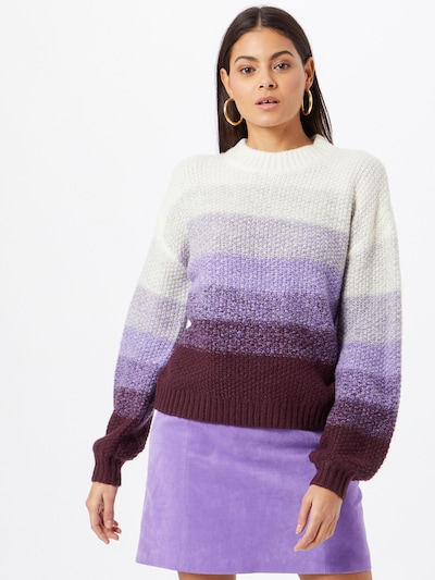 EDC BY ESPRIT Sweater in Lilac / Mixed colours, View model
