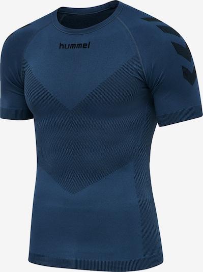 Hummel T-Shirt in dunkelblau, Produktansicht