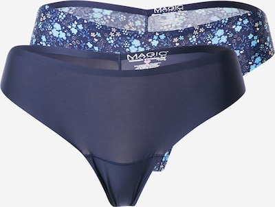 MAGIC Bodyfashion Tanga 'Dream Invisibles' en azul / azul paloma / azul claro, Vista del producto