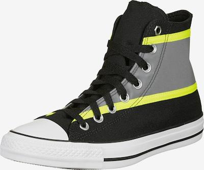 CONVERSE Sneakers hoog 'Ctas Hi' in de kleur Geel / Grijs / Zwart, Productweergave