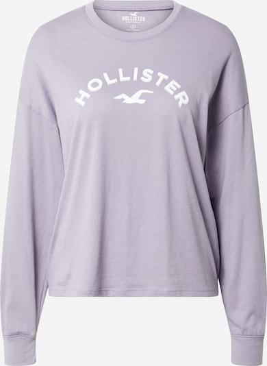 HOLLISTER Shirt in lavendel / weiß, Produktansicht