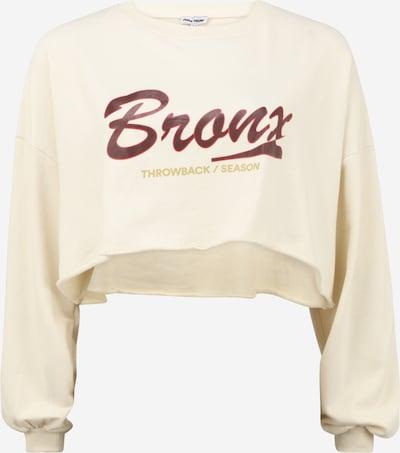 Public Desire Curve Sweatshirt in hellbeige / senf / rot / burgunder, Produktansicht