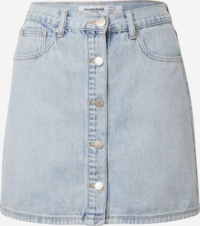GLAMOROUS Falda en azul denim, Vista del producto