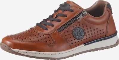 RIEKER Zapatos deportivos con cordones en chamois / navy, Vista del producto