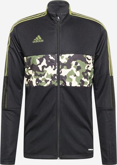 ADIDAS PERFORMANCE Trainingsjacke 'Tiro Graphic' in schwarz, Produktansicht