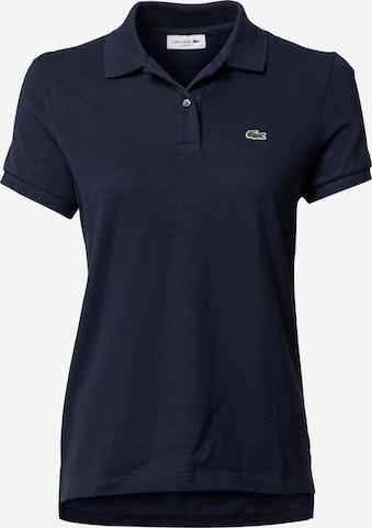LACOSTE Tričko - Modrá