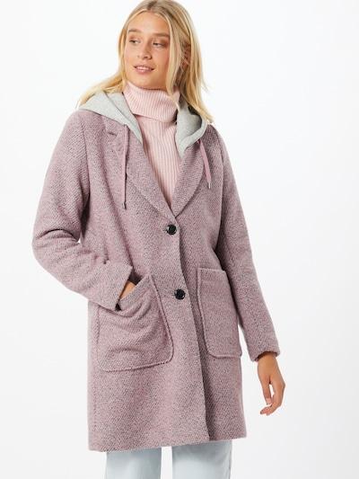 EDC BY ESPRIT Přechodný kabát - šedá / pink, Model/ka