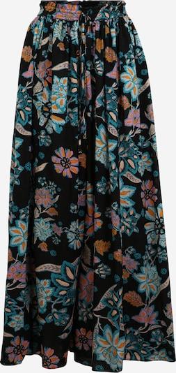 Free People Pantalon harem 'TAKE IT' en bleu / bleu foncé / orange / rose / rose, Vue avec produit