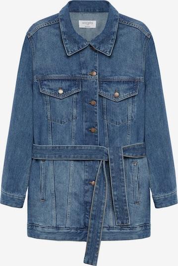 VIOLETA by Mango Prehodna jakna 'Desire' | moder denim barva, Prikaz izdelka