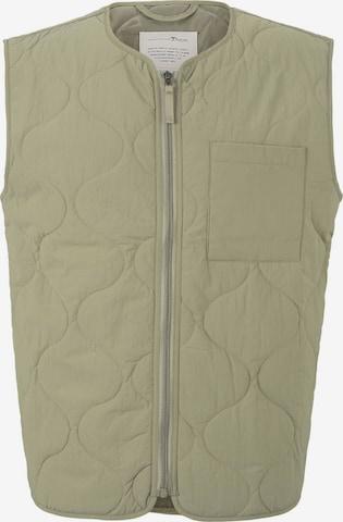 TOM TAILOR DENIM Vest in Green