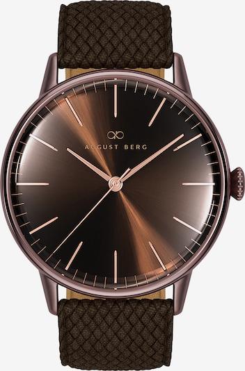 August Berg Uhr 'Serenity  40mm' in braun, Produktansicht