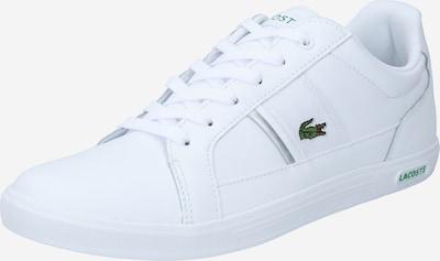 LACOSTE Nízke tenisky 'Europa' - strieborná / biela, Produkt