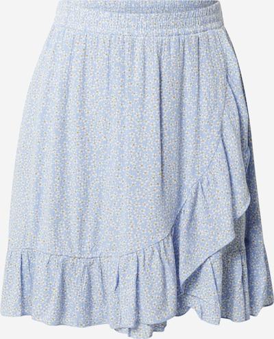 Fustă 'Kira' Hailys pe albastru deschis / galben / alb, Vizualizare produs