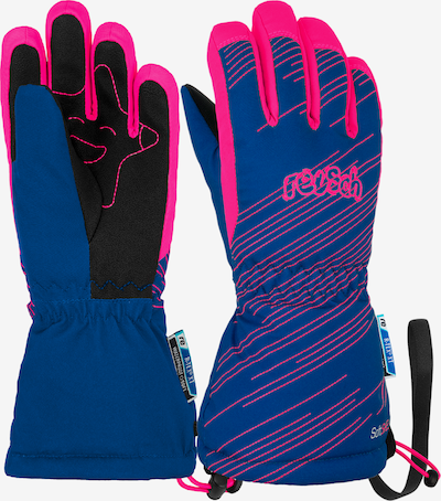 REUSCH Fingerhandschuh 'Maxi R-TEX® XT' in blau / pink, Produktansicht