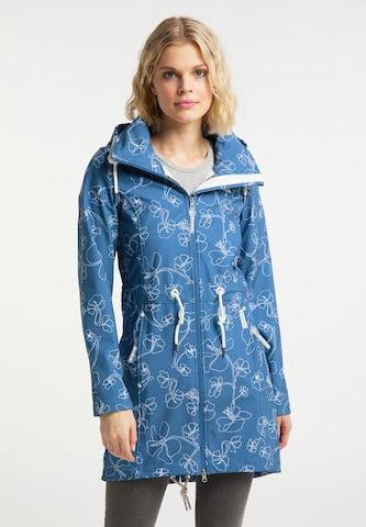 Schmuddelwedda Raincoat in Blue