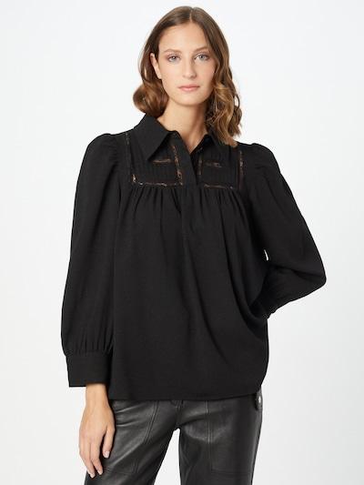 Hofmann Copenhagen Блуза 'Melissa' в черно, Преглед на модела