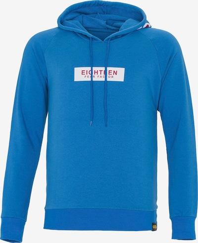 PLUS EIGHTEEN Sweat-shirt en bleu / rouge / blanc cassé, Vue avec produit
