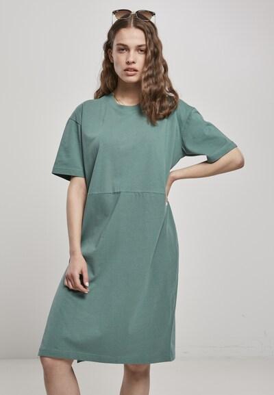 Urban Classics Curvy Kleid in jade, Modelansicht